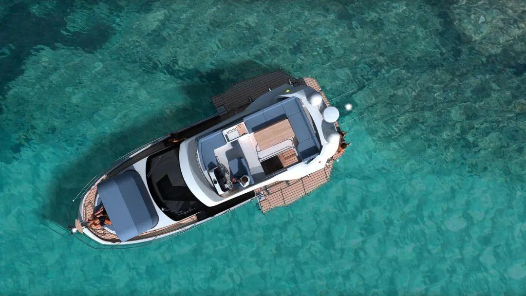 卡帝尔「Galeon 400 Fly」飞桥游艇,家庭巡航不可错过的选择