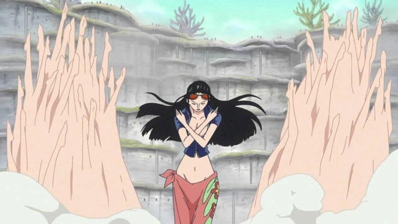海賊王:如果羅賓能使用武裝色霸氣,她的實力將會有質的飛躍