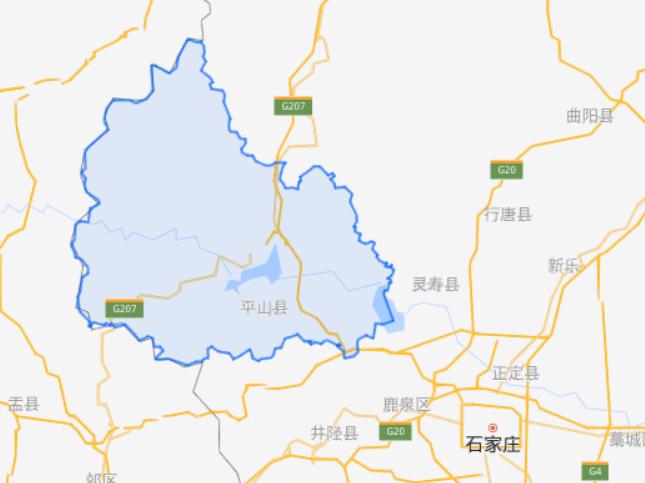 河北省一个县和四川省一个县,名字的读音正好一样