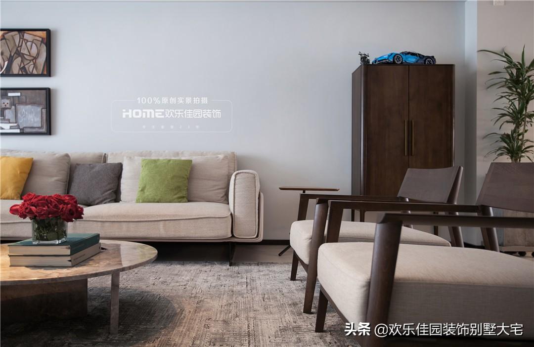 现代简约风,温柔时尚的宜居之家