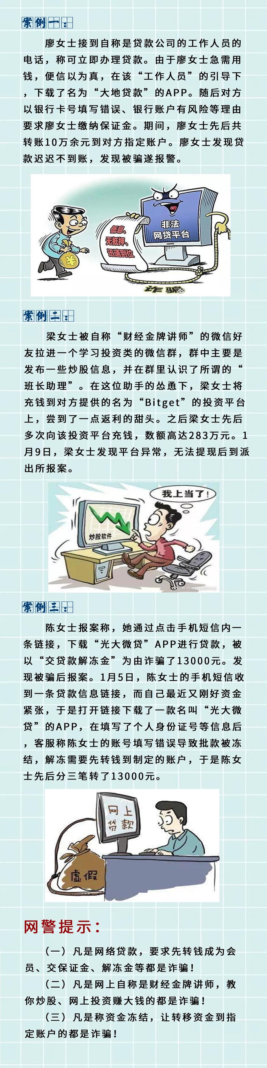 """常用的网贷诈骗""""套路"""",不让骗子有可乘之机"""
