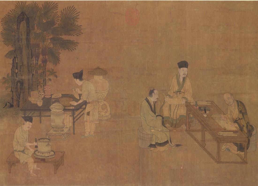 且将茶意画中寻 品鉴传世宋画中的宋茶之美