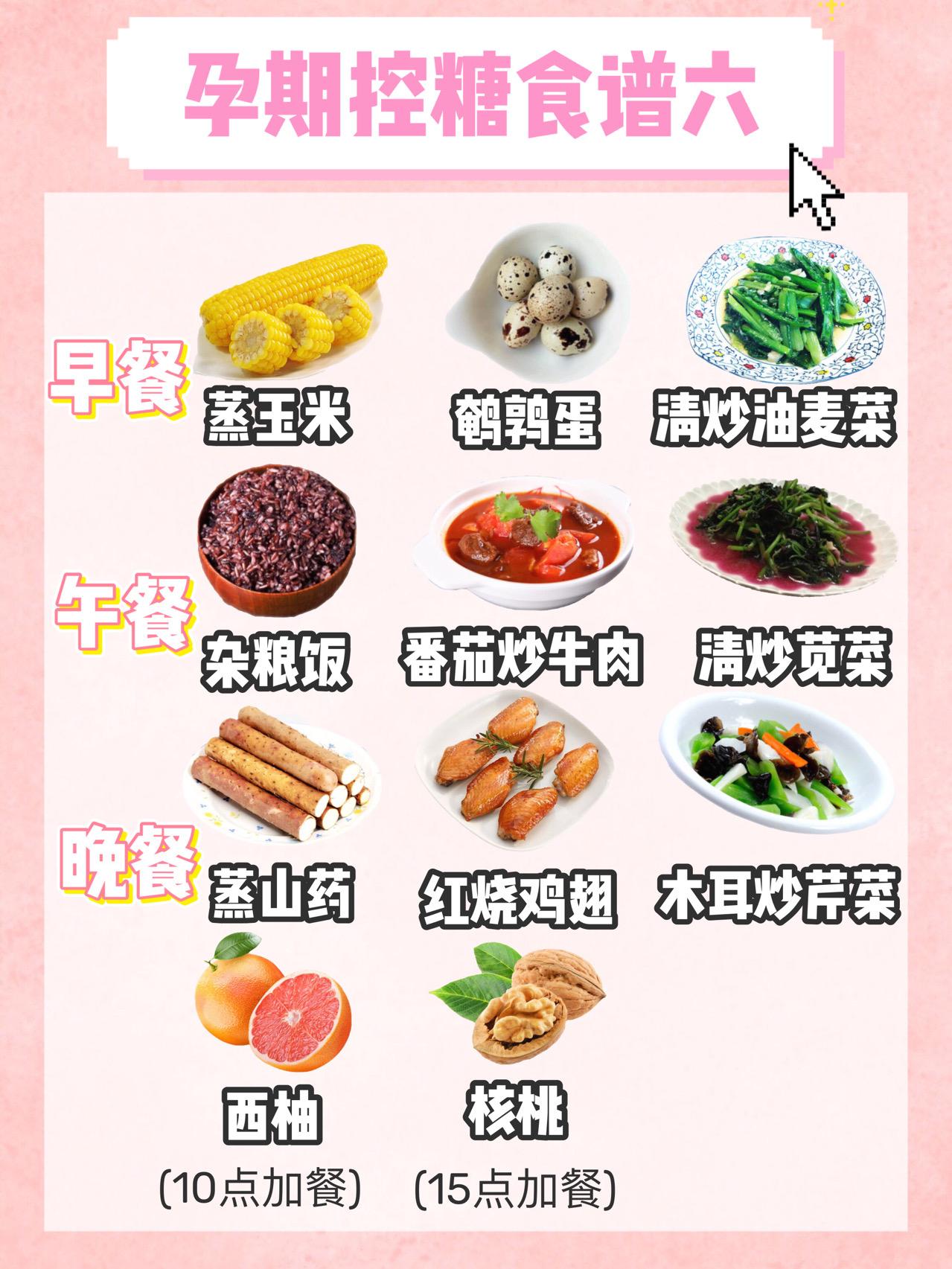 孕期控糖食谱,长胎不长肉,满满的干货 孕妇菜谱 第6张