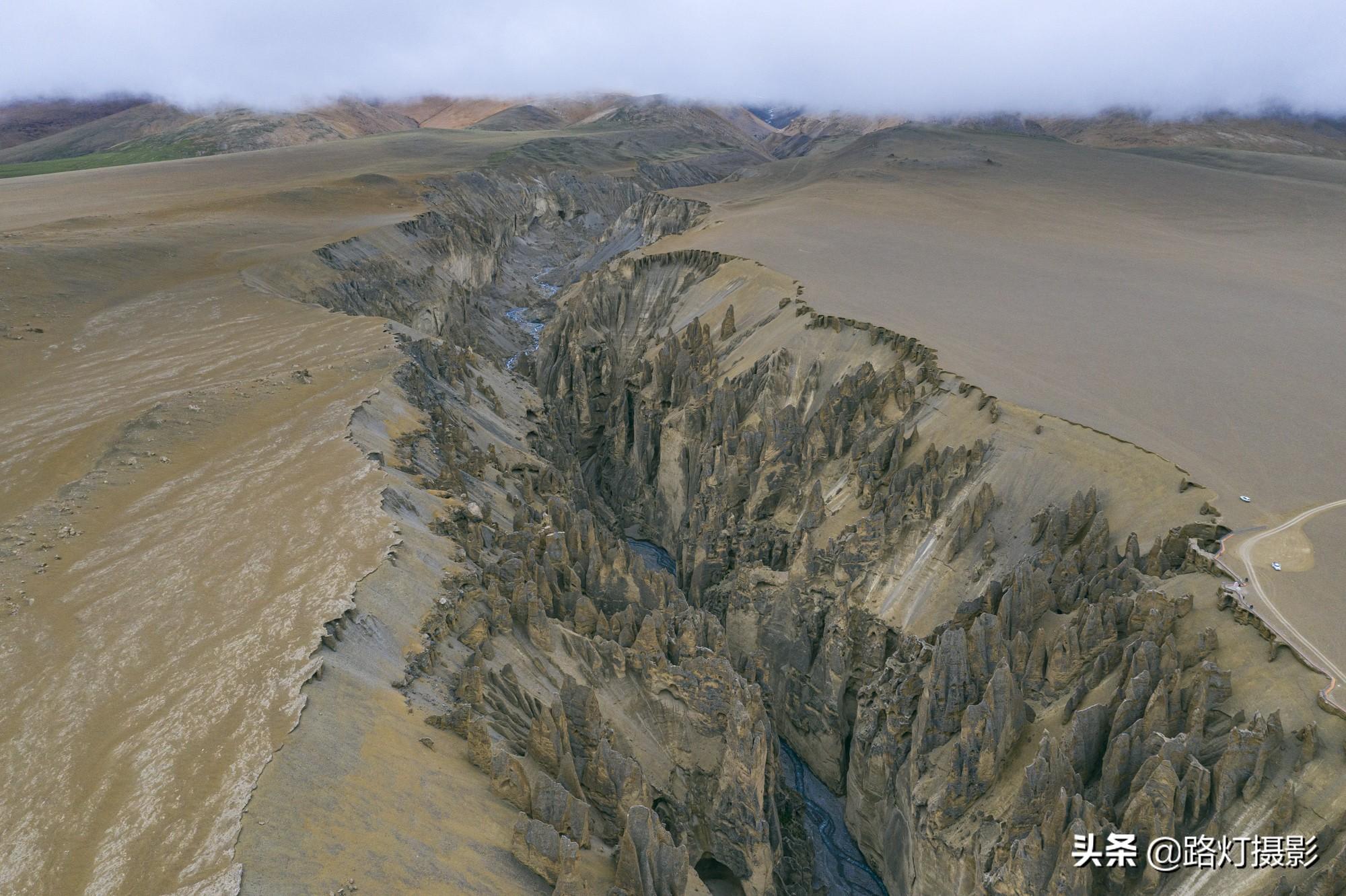 世所罕见!西藏日喀则奇林峡,喜马拉雅山下的惊世地裂,震撼人心