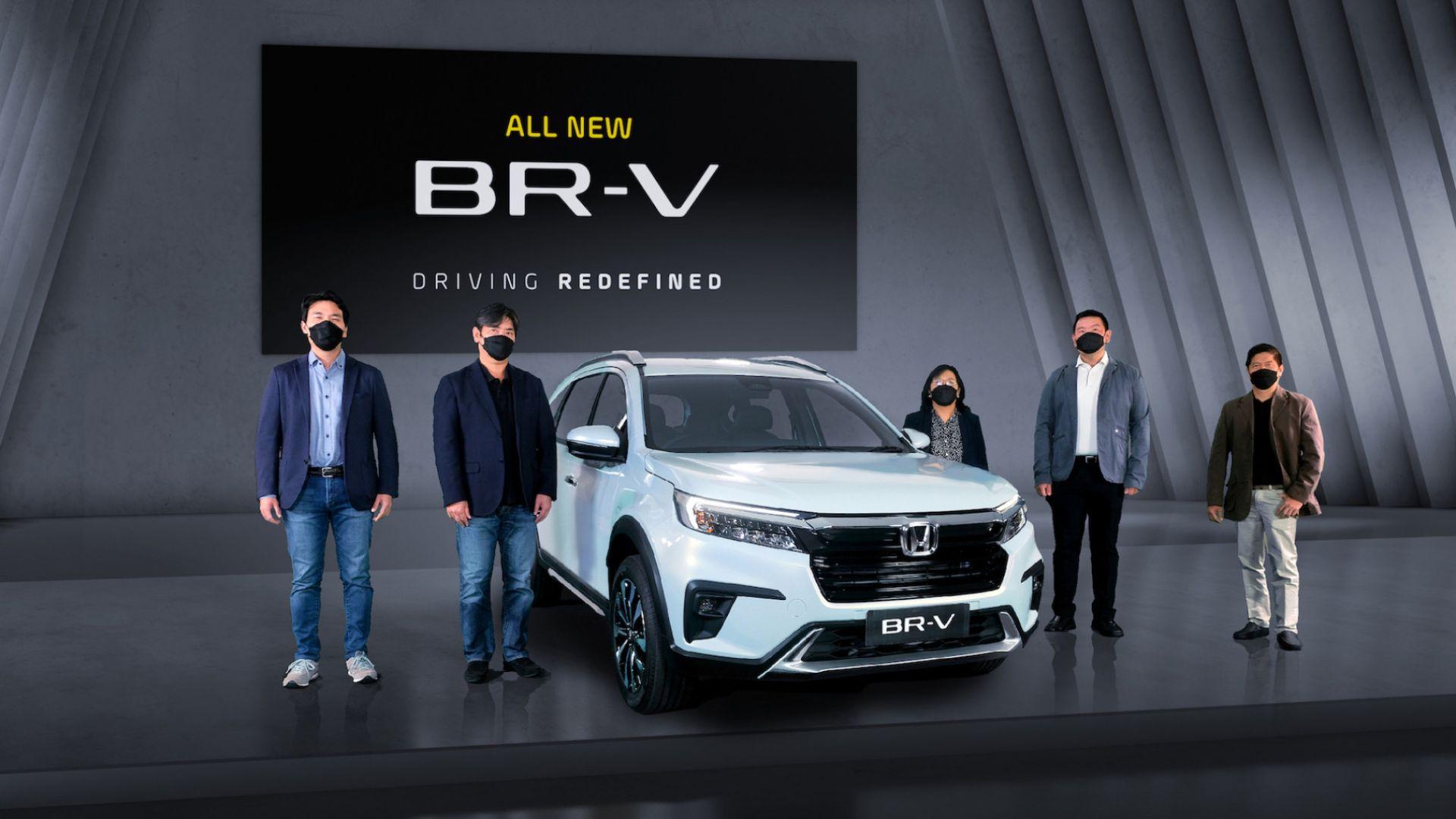 搭1.5L发动机,新款本田BR-V于印度尼西亚正式亮相