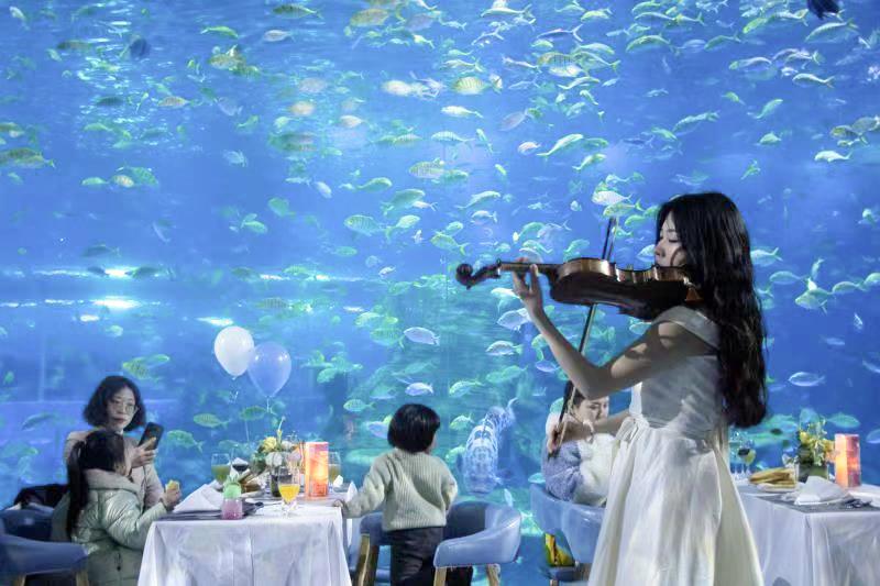梦幻海底时光 醉人珍馐晚宴 海洋女神盛宴奢华开启