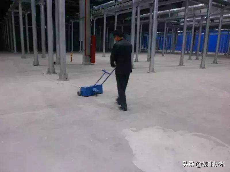 环氧地坪的施工工艺做法,很详细!