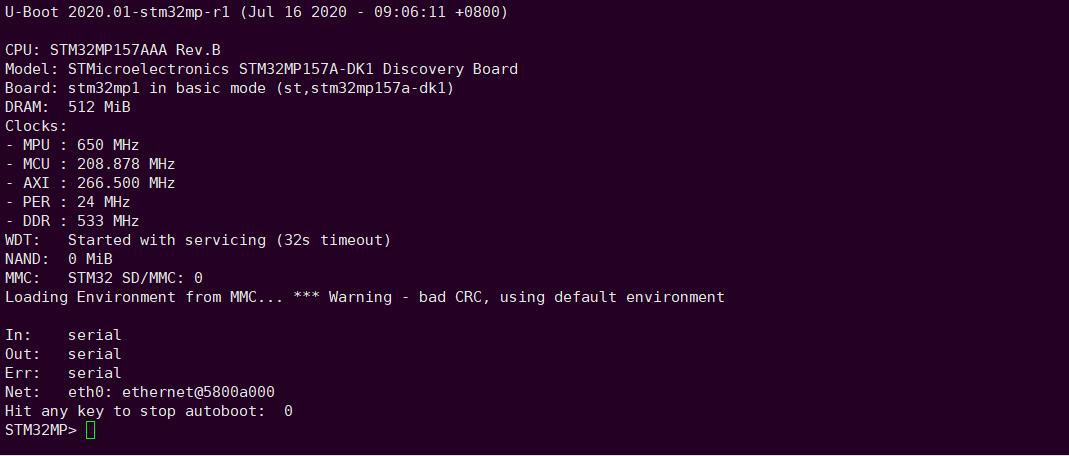 Linux系统移植篇4:STM32MP1微处理器之Bootloader移植
