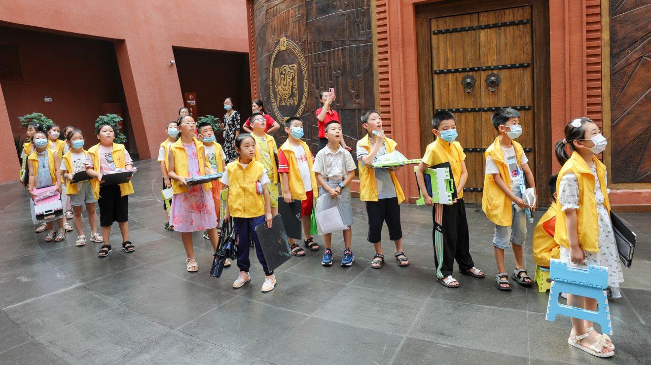 临沂市河东区画客书屋:走进东夷文化博物馆 感受历史文化魅力