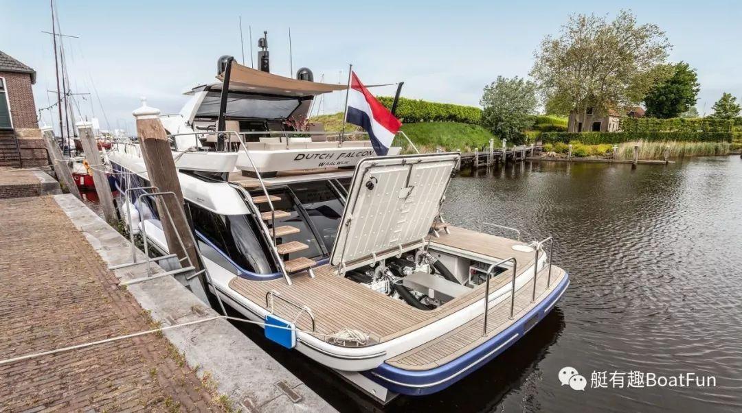 荷兰铝制游艇BeachClub 600于今年戛纳游艇展斩获最具创新游艇奖