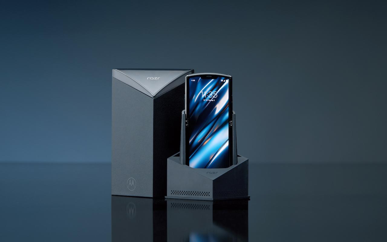 摩托罗拉手机Razr系列产品重归!适用左右伸缩,市场价约1.一万元