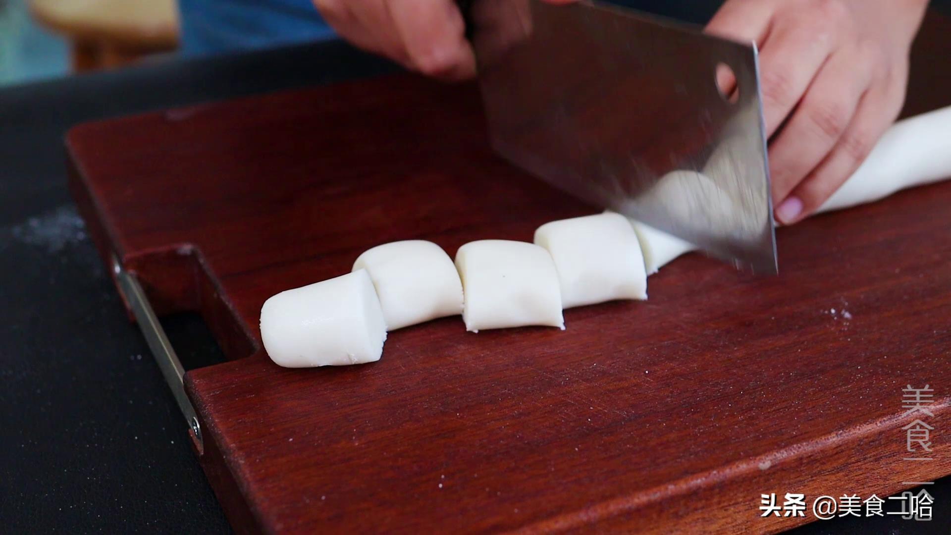 糯米白糖卷:既有糯米的嚼劲,又有白糖的清甜,好吃又过瘾 美食做法 第6张