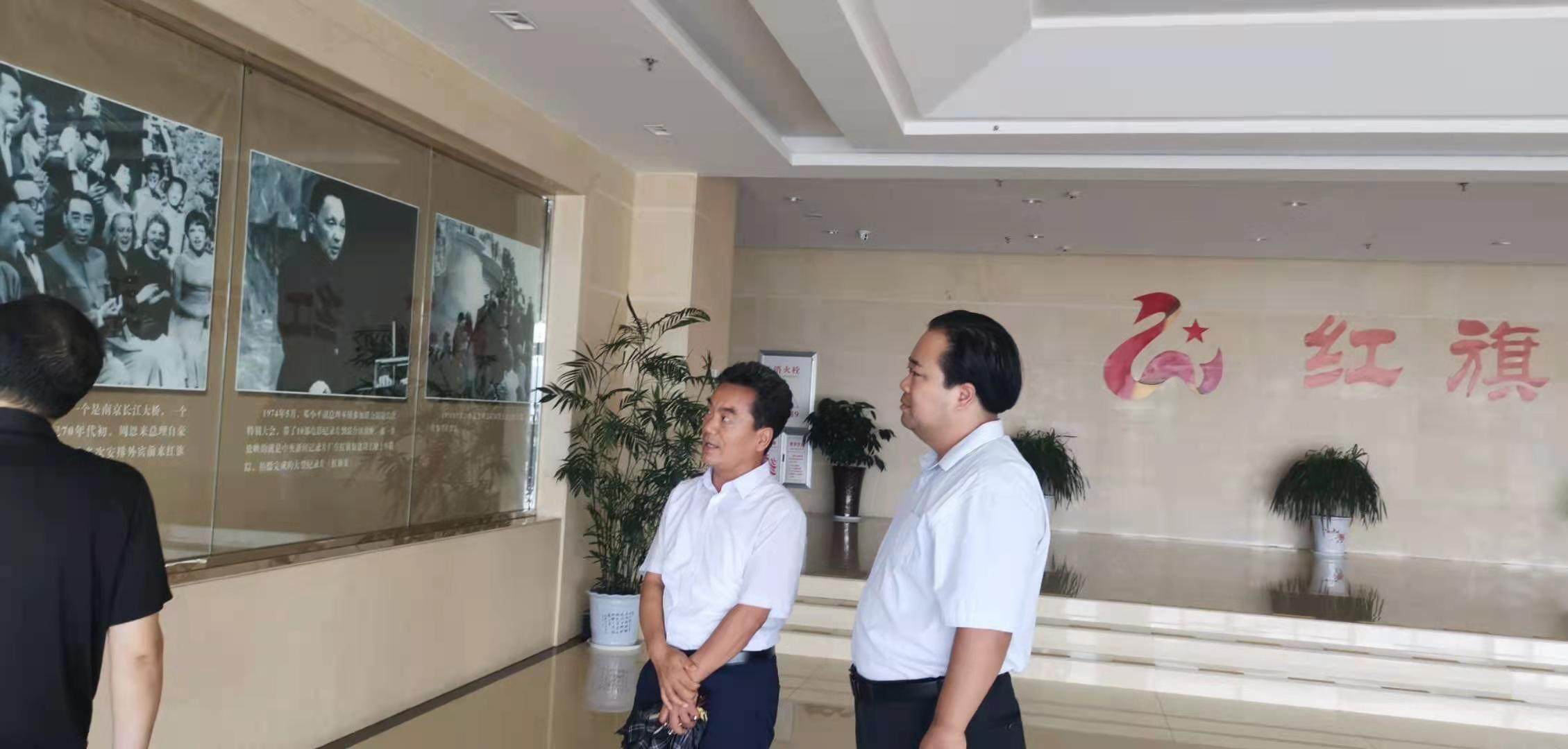 中健昱昇教育科技集团林州市项目考察