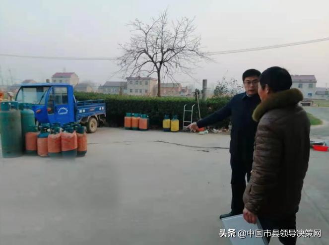 """江苏响水县南河镇擂响迎""""双节""""保安全战鼓"""