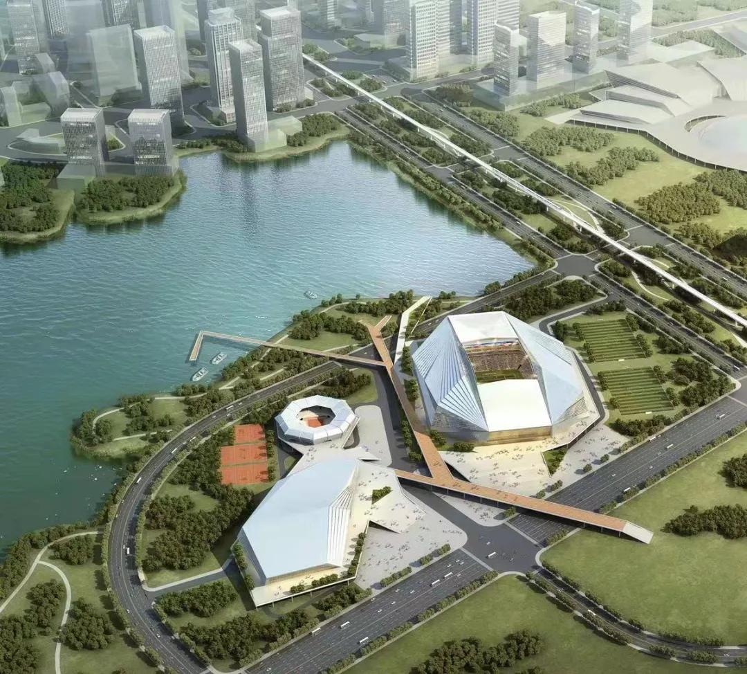 @球迷 武汉6万座专业足球场开建在即