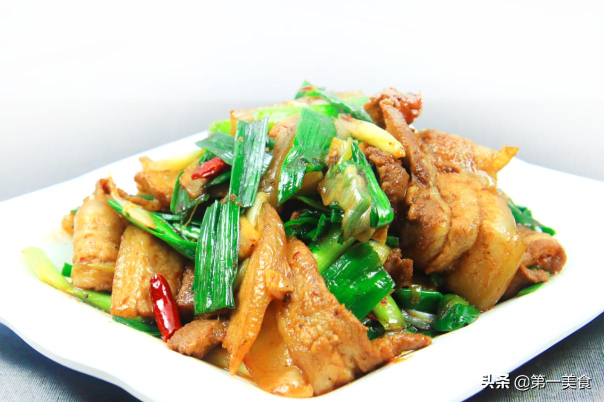 川菜之魂蒜苗回锅肉 切厚太腻久炒不香 牢记2个技巧才香而不腻