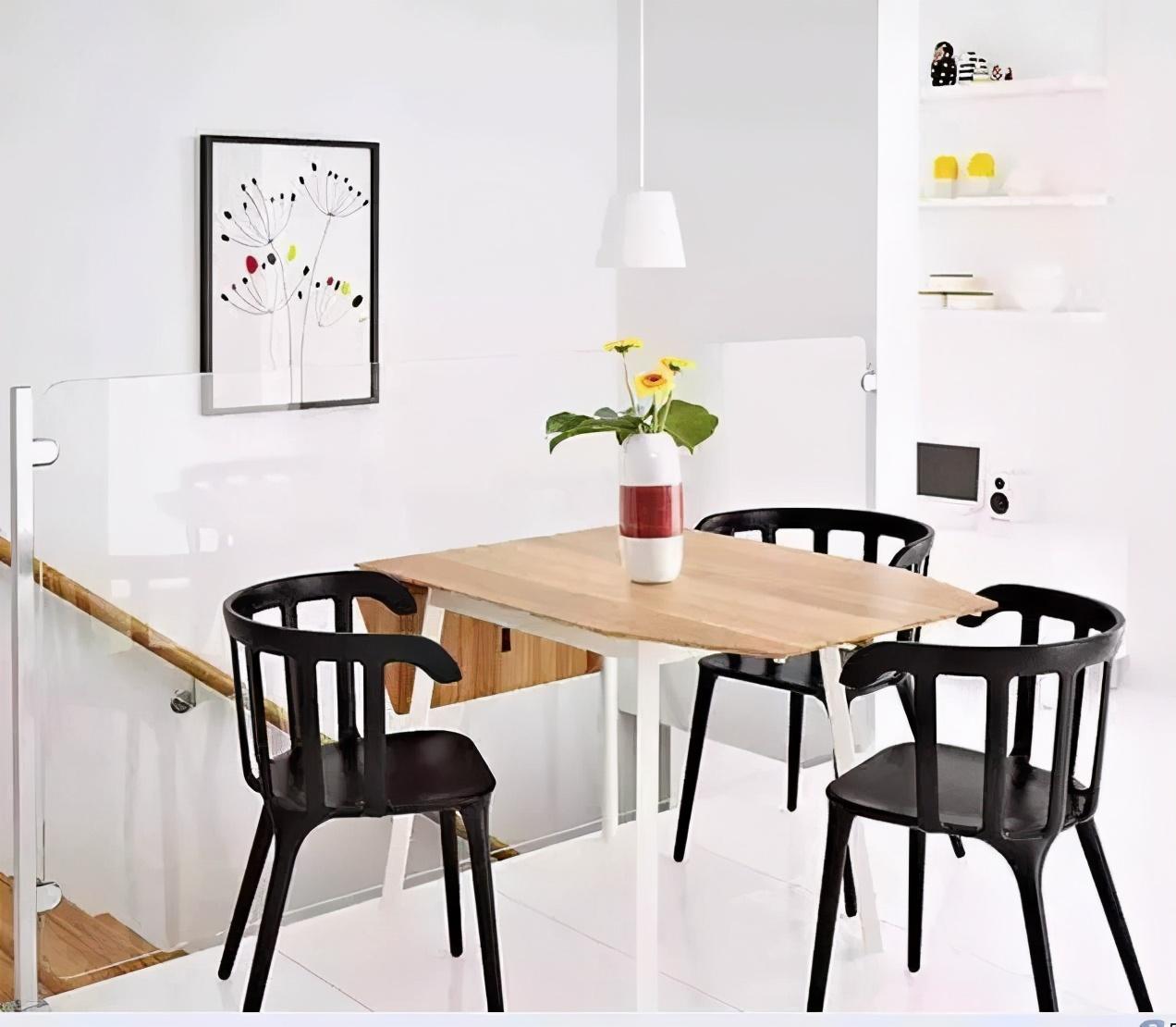 关于小户型的餐厅设计,4条建议要牢记,麻雀虽小但实用性不能输
