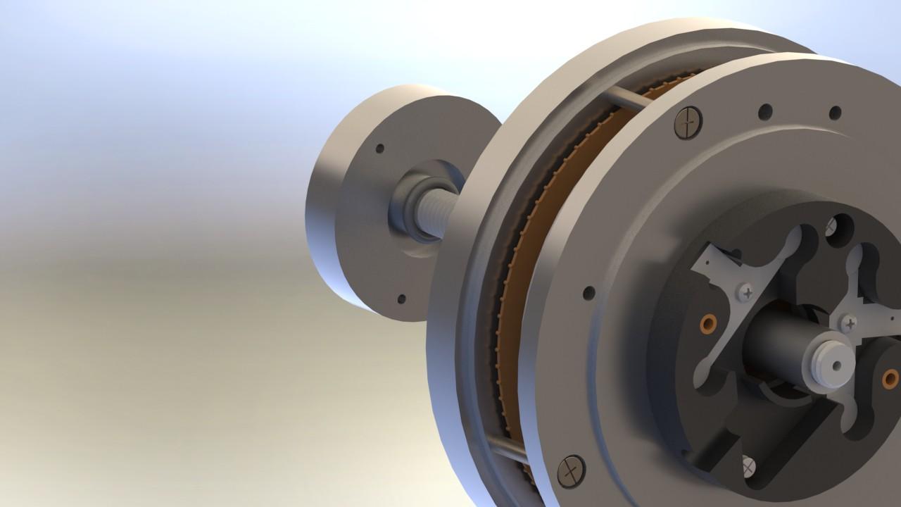Static Engine of Fabius引擎模型3D图纸 INVENTOR设计 附IGS