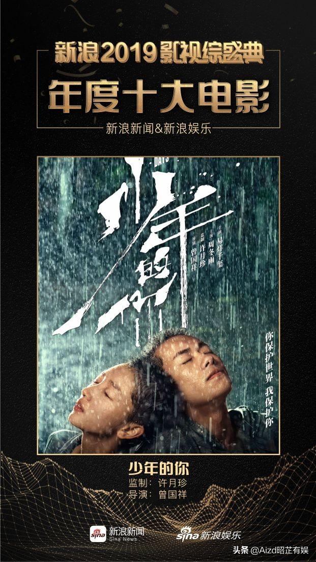 电影《少年的你》有毒!主演周冬雨易烊千玺拿奖拿到手软