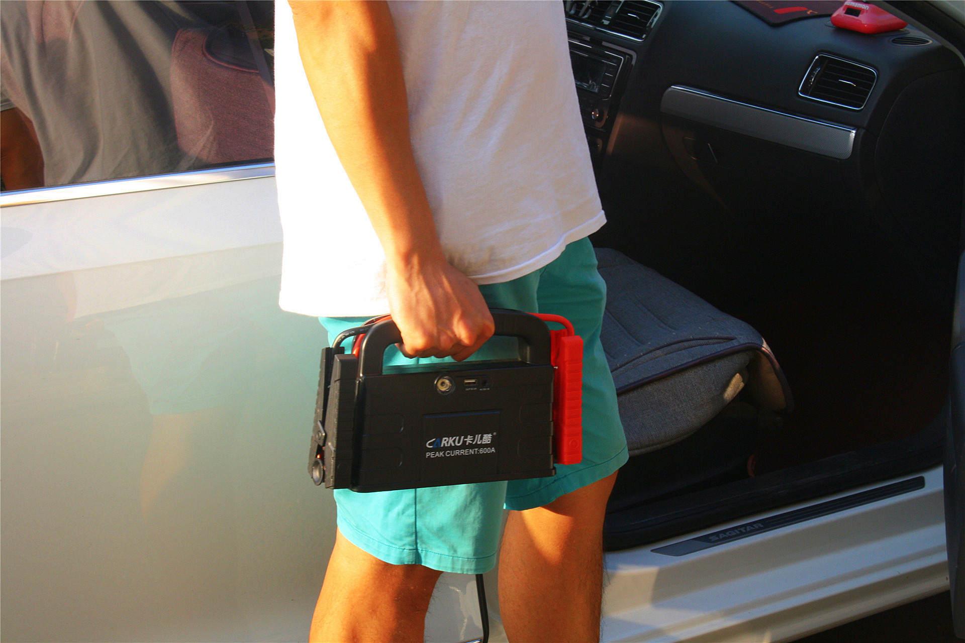 自驾出游不怕熄火 户外发烧友的好伴侣 卡儿酷应急启动电源评测