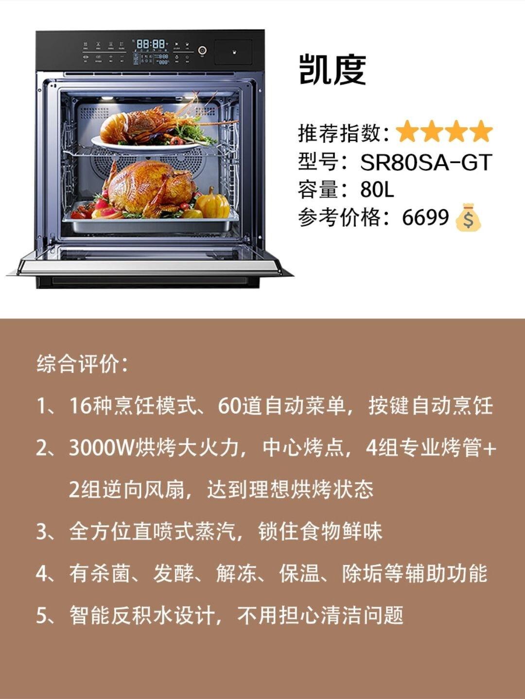房子装修,嵌入式蒸烤箱选购攻略,3款热门产品评测