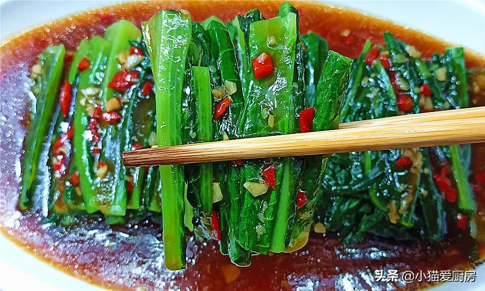 【蚝油油麦菜】做法步骤图 口感脆爽 清香解腻下饭