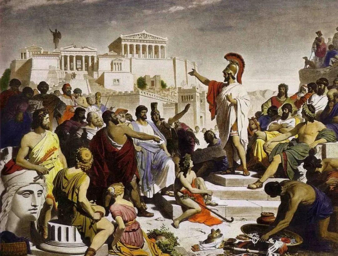 坤鹏论:古希腊哲学缘何在雅典达到鼎盛?(下)-坤鹏论