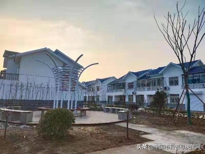 江苏响水县七套中心社区农房改善搬新居附近就业能致富