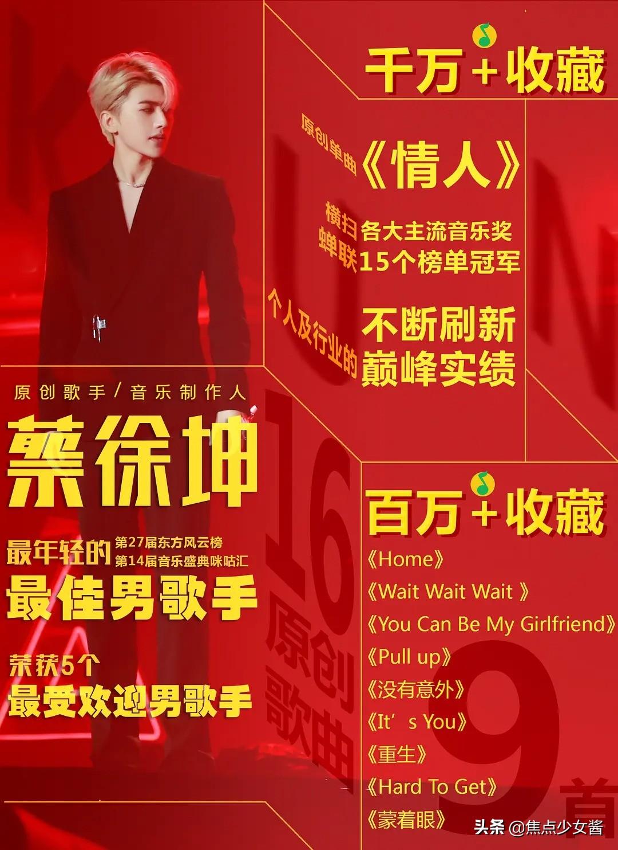 万众期待!蔡徐坤新专辑《迷》即将发布!凌晨公布歌名也是迷