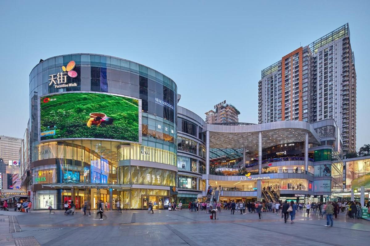 全国商场那么多,何以龙湖天街能成为网红?