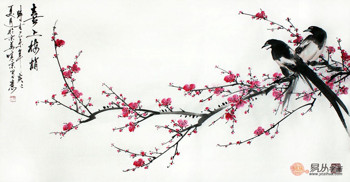 家装应选什么字画?富人为什么总喜欢挂花鸟画?越挂越富