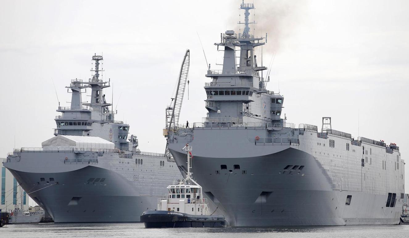 假如中美南海爆发冲突,英法德3国谁会上?其实