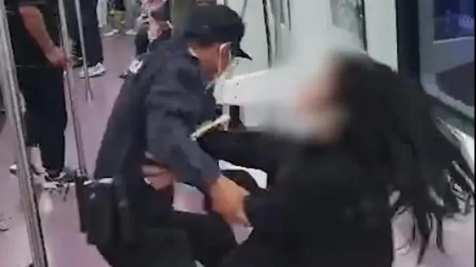 """保安停职,7人被处理!西安通报""""地铁保安强行拖拽女乘客""""调查结果;事发线路安保系外包..."""