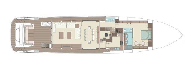 租110英尺丽娃游艇FIGURATI号出海,明年夏天可以实现