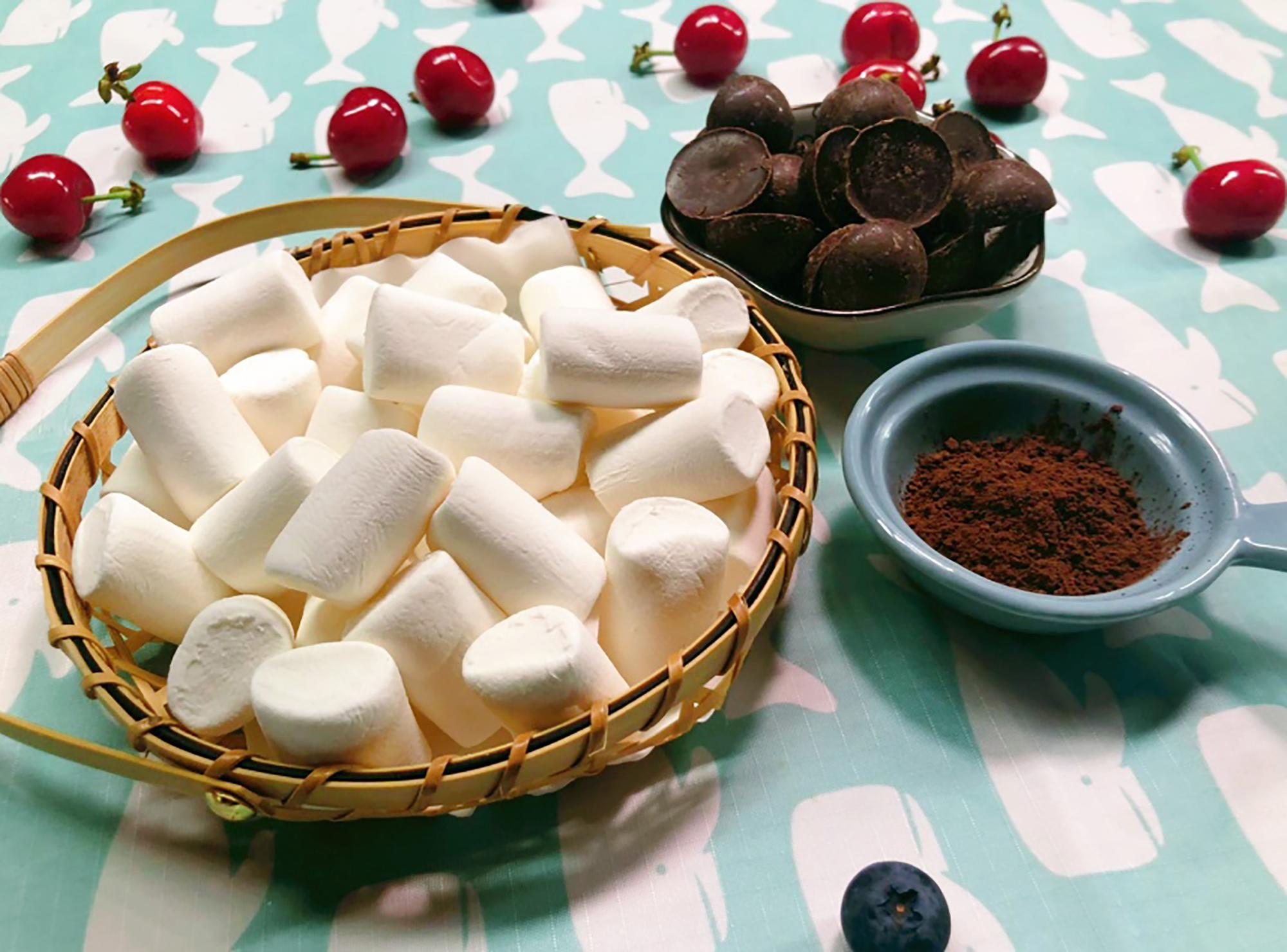 超级简单的棉花糖布丁和巧克力慕斯的做法教程!手残党福音!