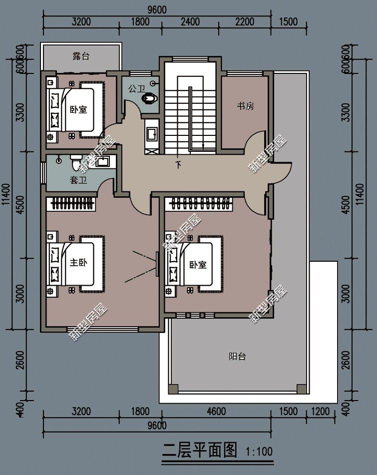 宅基地太小农村怎么建房好? 7套9米面宽小户型,哪套更实用?
