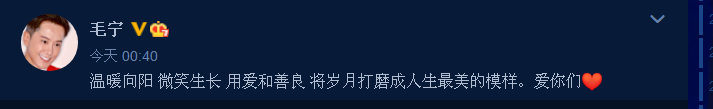 """毛宁:喜迎52岁生日,连续发布4条动态表达自己""""格外激动""""之情"""
