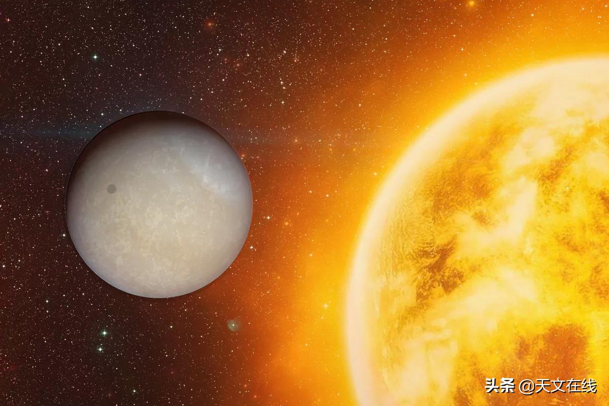 已知范围内温度最高的系外行星正在其大气中熔化分子