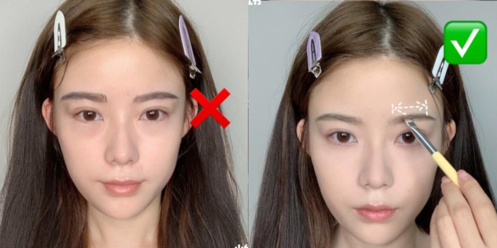 眉毛一直画不好?快改掉这3大误区 眉尾太低、过长都显老