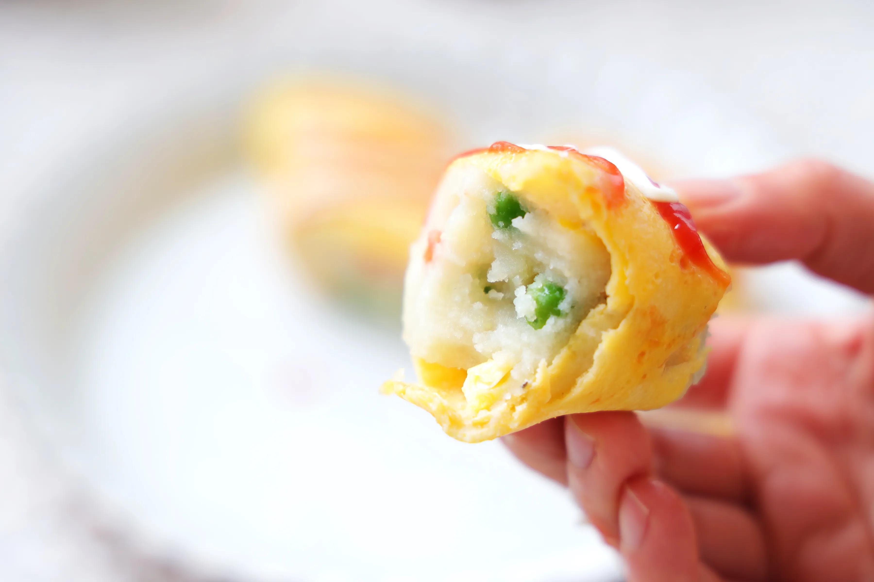 早餐新吃法,有肉有菜有主食,软糯好吃,无油无水健康无负担!
