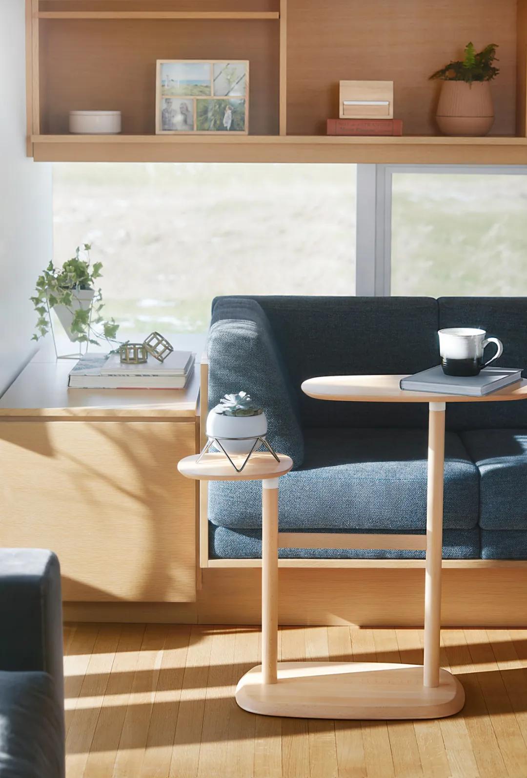 多角度家居设计,打破传统对称美