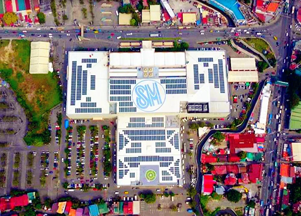 BB平台亮相东南亚最大购物中心屋顶