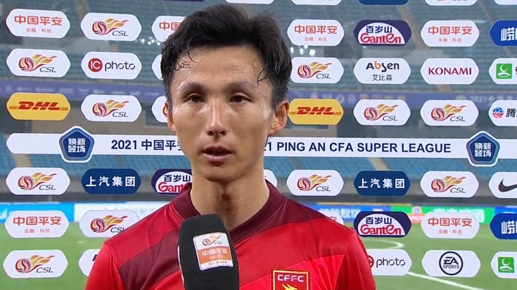 尹鸿博:每年联赛首场比赛都很艰难,希望前几场发挥更好帮助球队