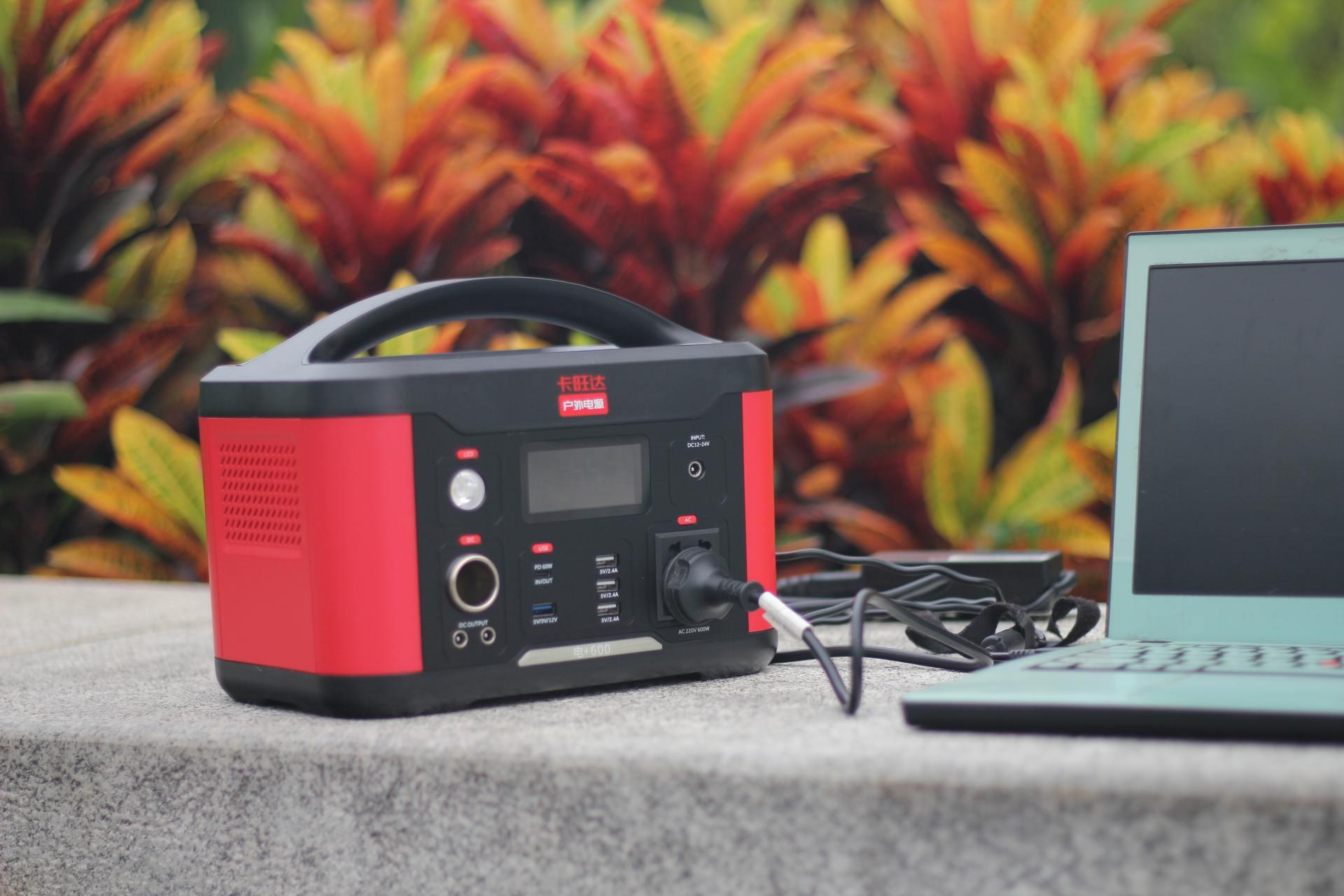 户外直播 野外派露营好伴侣,卡旺达微型小电站上手