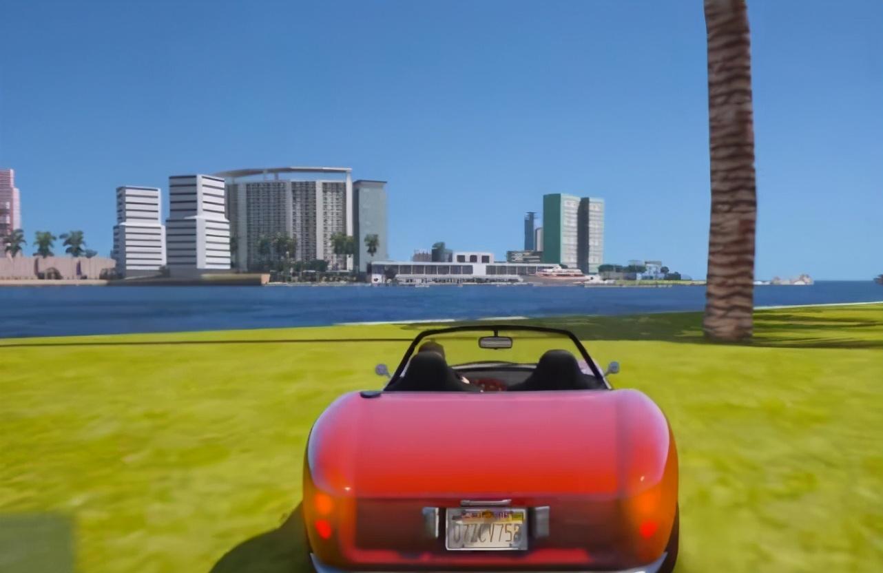 """当你在《GTA5》中进入""""罪恶都市""""会怎样?追忆童年时光"""