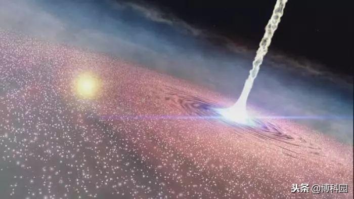 这颗类星体在宇宙眨眼的瞬间消失