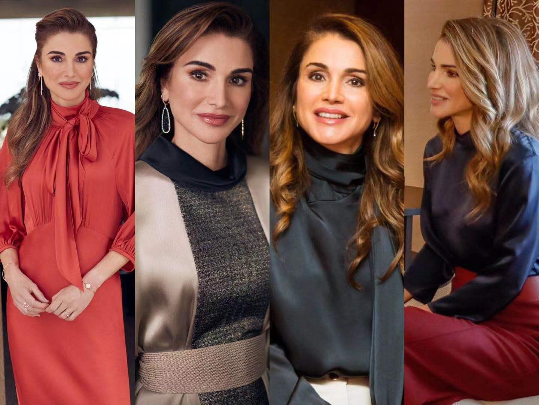 身材比例并不完美的约旦王后,为什么成为最会穿衣的王后?