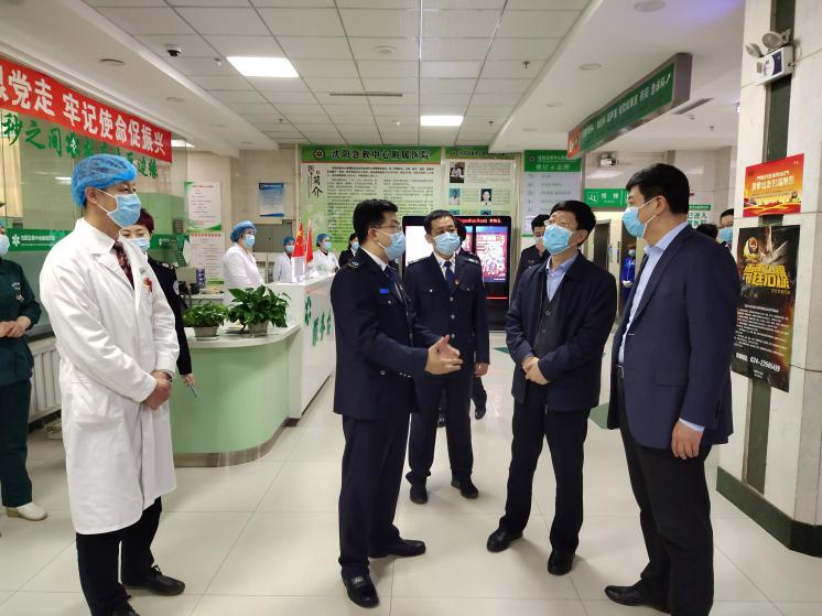 """沈阳市卫生健康系统""""人才建设年、科技创新年、基层提升年""""建设成果之沈阳急救中心工作纪实"""