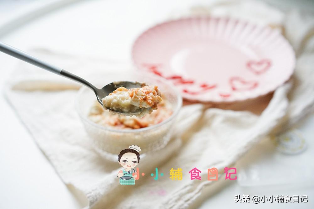 孩子便秘吃甚么?笋丁肉末谷物麦片粥