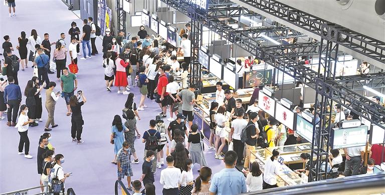 2021深圳国际珠宝展盛世空前,珠宝租赁特色服务却让人眼前一亮